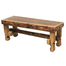 """48"""" Old Wood Bench Seat"""