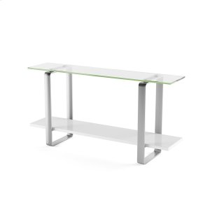 Bdi FurnitureConsole Table 1643 in Smooth Satin White