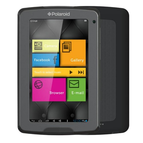 Polaroid 4.3-inch Android 4.0 4GB Internet Tablet and Wireless e-Reader with Capacitive Multi-Touch Display and Camera - PMID4311, Black