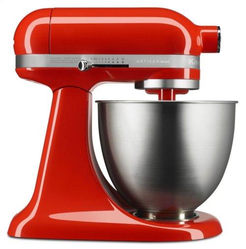 Artisan® Mini 3.5 Quart Tilt-Head Stand Mixer - Hot Sauce