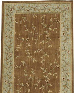 Hard To Find Sizes Estate Beaup Coppr Rectangle Rug 4' X 32'6''
