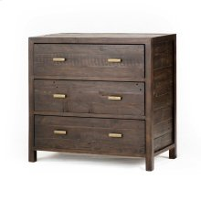 Dark Carbon Finish Caminito 3-drawer Dresser