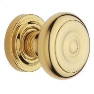 Lifetime Polished Brass 5005 Estate Knob
