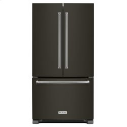 25 Cu. Ft. 36-Width Standard Depth French Door Refrigerator with Interior Dispense - Stainless Steel with PrintShield™ Finish
