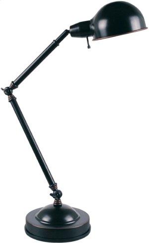 Desk Lamp, Dark Bronze, E27 Cfl 13w