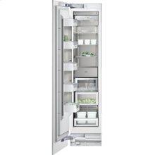 "Vario freezer 400 series RF 411 700 fully integrated Niche width 18"" (45.7 cm), Niche height 84"" (213.4 cm)"