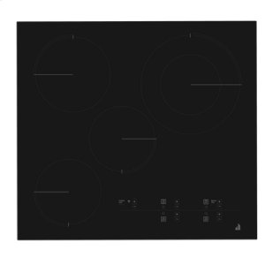 "Oblivian Glass 24"" Electric Radiant Cooktop with Glass-Touch Electronic Controls"