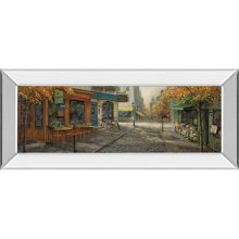 Quaint City Nostalgia By Ruane Manning (mirrored Frame)