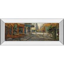 Quaint City Nostalgia By Ruane Manning (mirrored Frame)