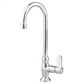 Heritage Single Control Gooseneck Bar Sink Faucet - Polished Chrome