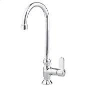 Heritage Single Control Gooseneck Bar Sink Faucet - Polished Chrome