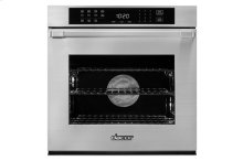 "Heritage 27"" Single Wall Oven, Silver Stainless Steel with Flush Handle"