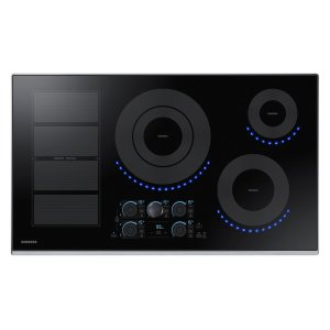 "Samsung Appliances36"" Induction Cooktop in Stainless Steel"