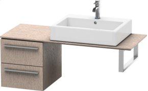 Low Cabinet For Console, Cashmere Oak