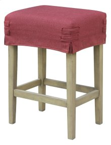 Short Saddle Stool Slip Cover