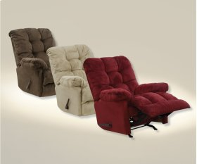 Chaise Rocker Recl w/Deluxe Heat/Massage - Doe