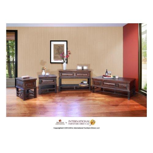 2 Drawer Sofa Table*