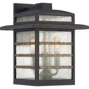 Plaza Outdoor Lantern in Palladian Bronze