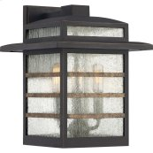Plaza Outdoor Lantern in Palladian Bronze