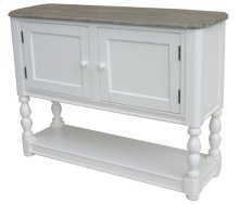 Nwprt Console Chest-wht/rw