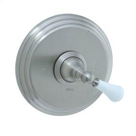 Asbury - Pressure Balance Mixing Valve Trim - Polished Nickel