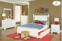 FULL Bed with Twin Trundle HB: 54.25H FB: 21H Product Image