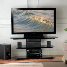 PVS4218HG High Gloss Black Flat Panel TV A/V System for most Flat Panel TVs up to 50 inches from Bell'O International Corp.