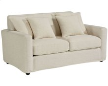 Ivory Benchmark Loveseat