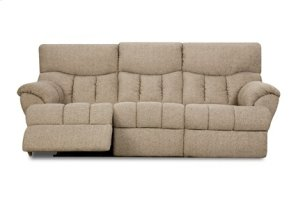 SOUTHERN MOTION 81328PRL Re-Fueler Savy Latte Power Double Reclining Loveseat