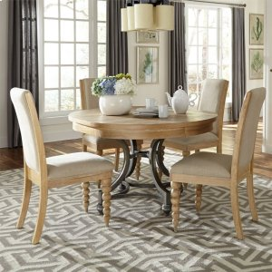 Liberty Furniture Industries Opt 5 Piece Round Table Set