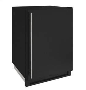 "1000 Series 24"" Convertible Freezer With Black Solid Finish and Field Reversible Door Swing (115 Volts / 60 Hz)"