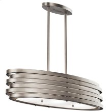 Roswell Collection Roswell 3 Light Oval Chandelier/Pendant - NI