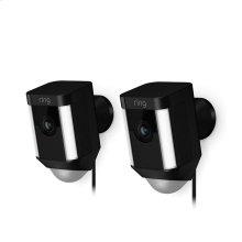 2-Pack Spotlight Cam Wired - Black