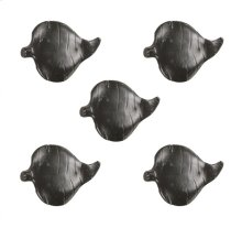 Leaf Drawer Knob- 5 Piece Set