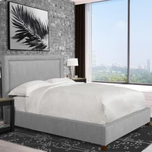 Cody Mineral (Grey) Upholstered Bed Collection