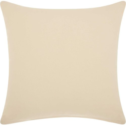 "Life Styles Cs012 Ivory 18"" X 18"" Throw Pillows"