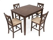 Walnut Creek 5 Pack - Counter Height Table With 4 Stools Product Image
