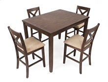 Walnut Creek 5 Pack - Counter Height Table With 4 Stools