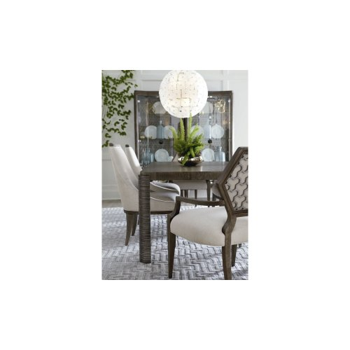 Geode Druzy Arm Dining Chair
