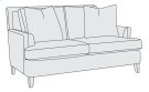 Addison Loveseat in Mocha (751) Product Image