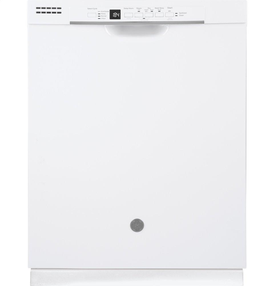 Gdf530pgmww Ge Ge 174 Dishwasher With Front Controls White