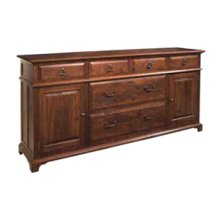 Large Lateral File Credenza