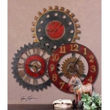 Rusty Movements Wall Clock