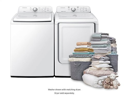 WA3000 4.0 cu. ft. Top Load Washer with Self Clean