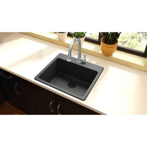 """Elkay Quartz Classic 25"""" x 22"""" x 9-1/2"""", Single Bowl Drop-in Sink"""
