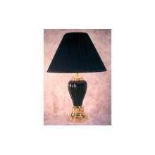 """26""""H Table Lamp Black/Small 6700"""