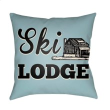 "Lodge Cabin LGCB-2042 16"" x 16"""