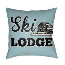 "Lodge Cabin LGCB-2042 16"" x 16"""
