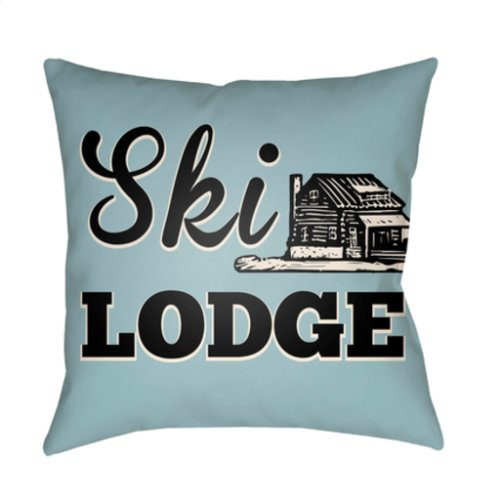 "Lodge Cabin LGCB-2042 22"" x 22"""