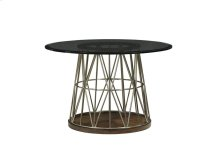 Andover Dining Table with Glass Top